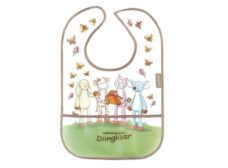 Diinglisar Bib with Pouch - Tame