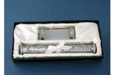 Birth Certificate Holder (Pewter)