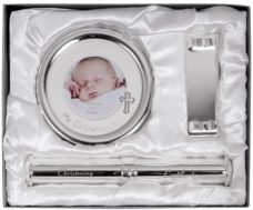 My Christening Day Gift Set (Silver Plated)