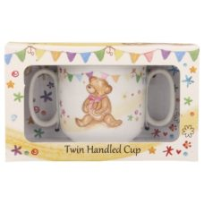 Little Bear Hugs Twin Handled Cup