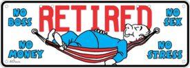 Novelty Plate - Retired