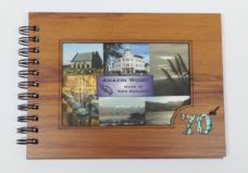 Wooden 70th Guestbook Photo Frame