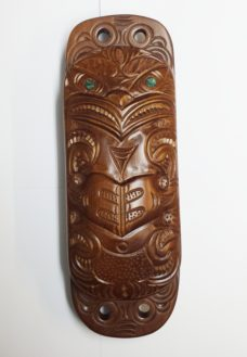 Carved Wakahuia (Feather Box)