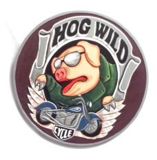 Harley Hog Wild Wall Plaque
