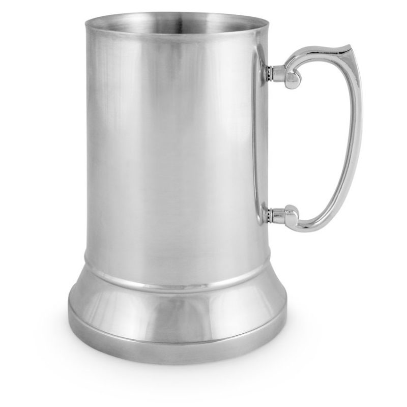 Stainless Steel Tankard 18oz Plain
