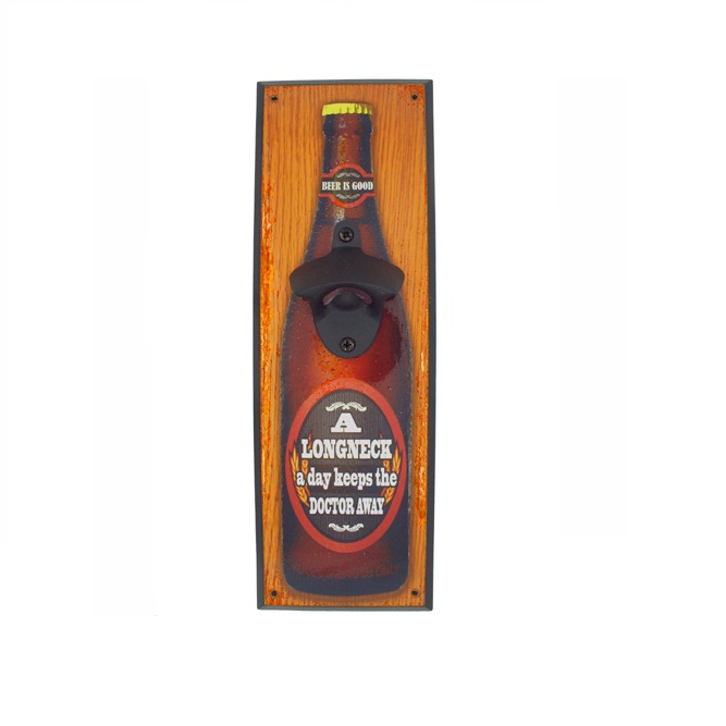Wall Mounted Bottle Opener (Long Neck)