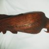 Carved Wooden Eagle on Perch (Large)