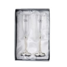 50th Anniversary Champagne Glasses (Set of 2)