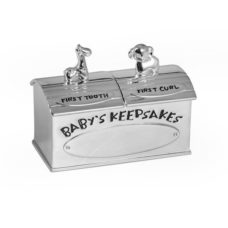 Baby First Tooth & Curl Keepsake Box