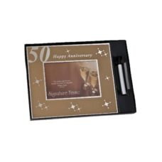 50th Anniversary Signature Photo Frame