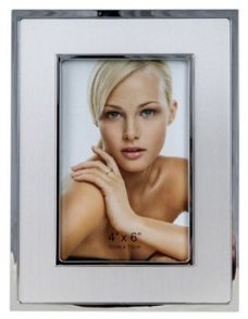 Photo Frame: Chrome (4×6″)
