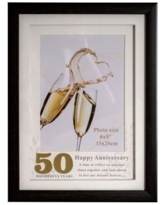 50th Anniversary Photo Frame