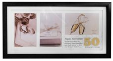 50th Anniversary Photo Frame Collage