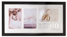 60th Anniversary Photo Frame Collage