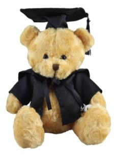 Graduation Teddy Bear (19cm)