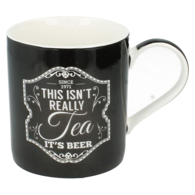 Gentlemen's Quarters Mug: This isn't really Tea It's Beer