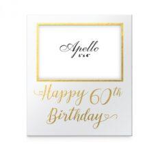 Happy 60th Birthday Photo Frame