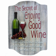 Wall Art: The Secret Of Enjoying Good Wine