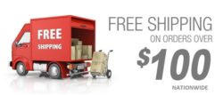 FREE SHIPPING! On Orders Over $100