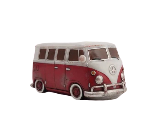 Red Combi Van Light