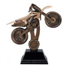 Resin Trophy: Motocross Bike