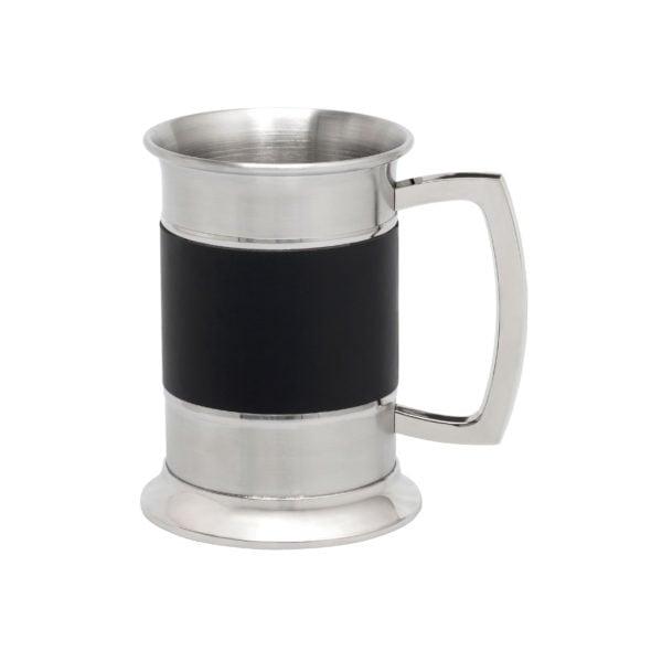 Tankard Black Band (Stainless Steel)