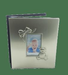 Baby Photo Album (Pewter Finish)