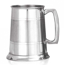 Tankard Satin Band (Pewter Finish)