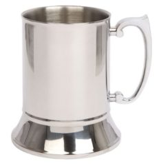 Tankard High Polish (Stainless Steel)