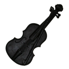 Wall Mounted Ornamental Violin