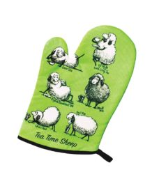 Tea Time Sheep Oven Glove
