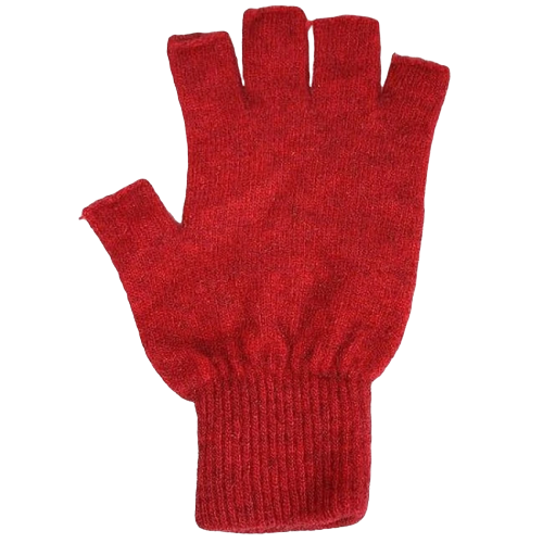 Possum Merino Gloves: Rata (Fingerless - Made in NZ)