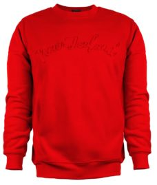 Sweatshirt: Red 3D New Zealand
