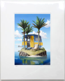 Barry Ross Smith – NZ Print – Caravan