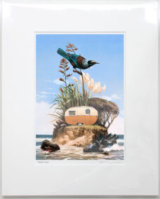 Barry Ross Smith – NZ Print – Freedom Camper