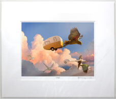 Barry Ross Smith – NZ Print – In Flight