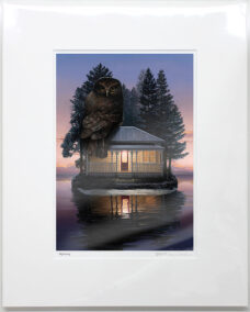 Barry Ross Smith – NZ Print – Nightsong