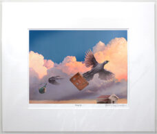 Barry Ross Smith – NZ Print – Rising Up