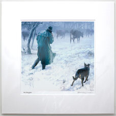 Barry Ross Smith – NZ Print – The Stragglers