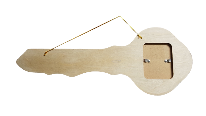 21st Wooden Key Backing with Photo
