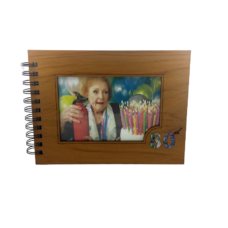 Wooden 80th Guestbook Photo Frame (NZ Made)