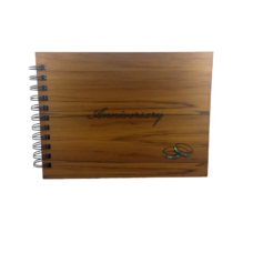 Wooden Anniversary Guestbook (NZ Made)