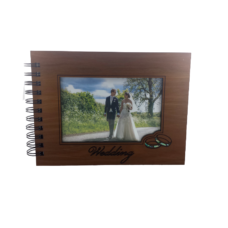 Wooden Wedding Guestbook Photo Frame (NZ Made)