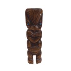 Carved NZ Kauri Teko Teko