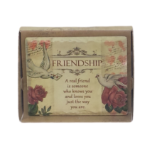 Jardin Plaque: Friendship
