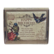 Jardin Plaque: Happy Birthday