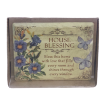 Jardin Plaque: House Blessing