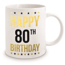Happy 80th Birthday Coffee Mug
