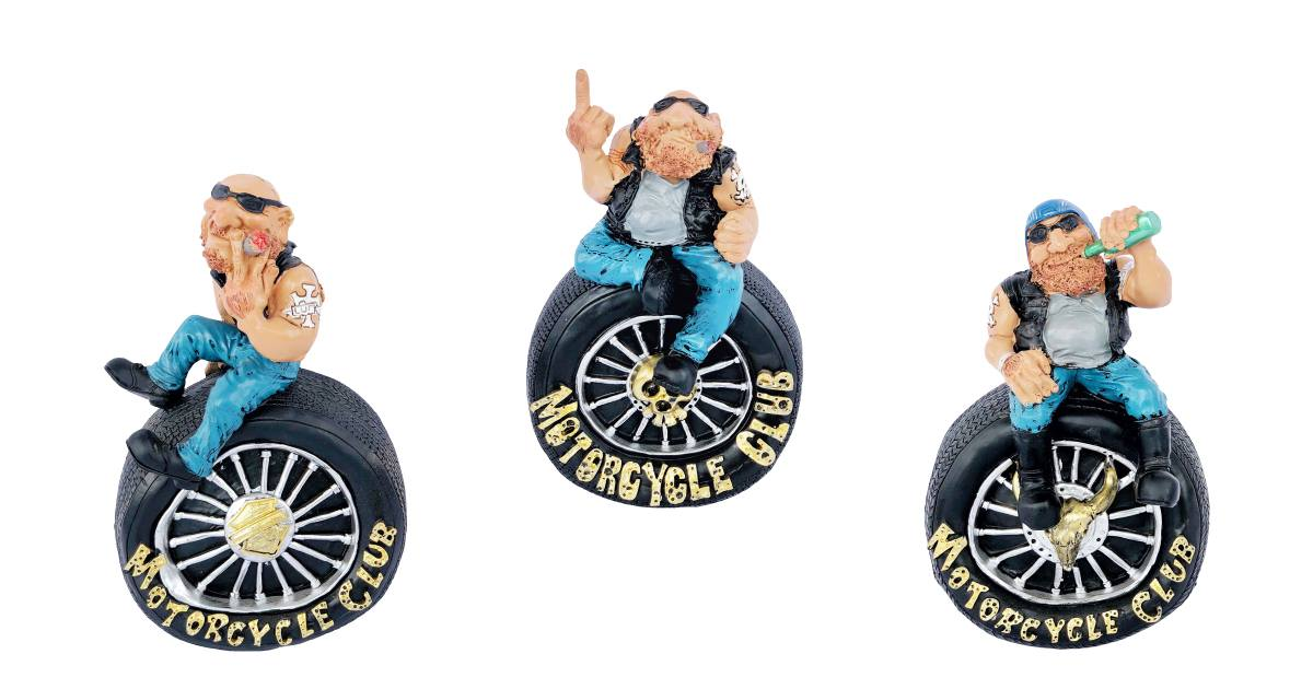 Cool Biker Money Boxes!