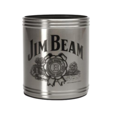 Jim Beam Stainless Steel Can Cooler